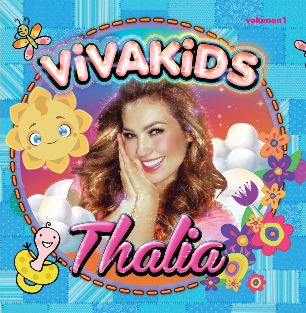 Thalía Viva kids-Vol. 1